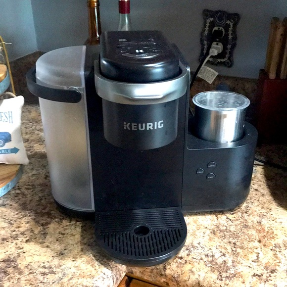Keurig makes cappuccino and lattes